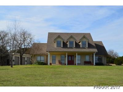 Killeen Single Family Home For Sale: 711 Reese Creek Road