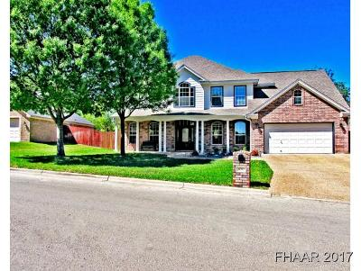 Temple Single Family Home For Sale: 4012 Creekview