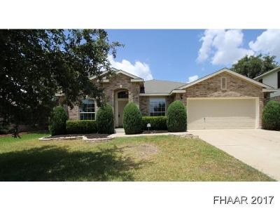 Harker Heights Single Family Home For Sale: 114 E Running Wolf