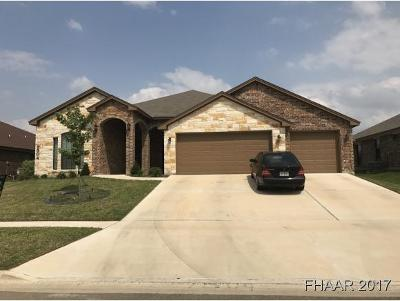 Killeen Single Family Home For Sale: 7504 Abilene Drive