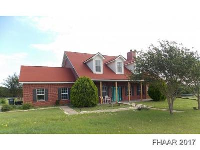 Bell County Single Family Home For Sale: 5390 Fm 2484