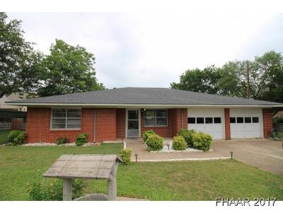Belton Single Family Home For Sale: 5227 Denmans Loop