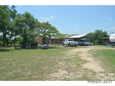 Killeen Single Family Home For Sale: 2832 Briggs Road