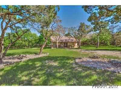 Temple Single Family Home For Sale: 5351 Cliff Estates Rd