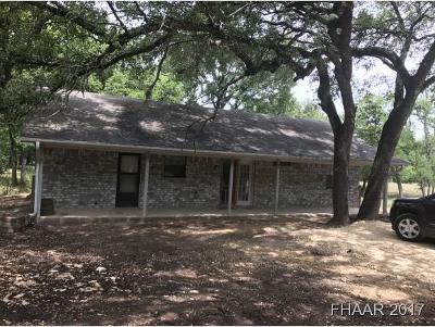 Belton Single Family Home For Sale: 3449 Sunflower Lane