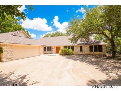 Belton Single Family Home For Sale: 5667 Denmans Loop