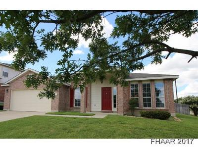 Harker Heights Single Family Home For Sale: 715 Black Hills
