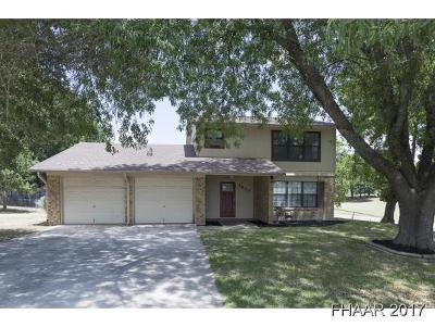 Harker Heights Single Family Home For Sale: 1810 Valley Oaks Drive