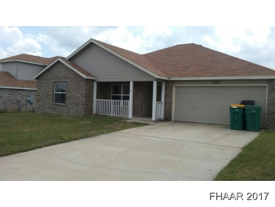 Belton Single Family Home For Sale: 2103 S Madison Court