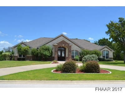 Harker Heights Single Family Home For Sale: 3227 Eagle Ridge