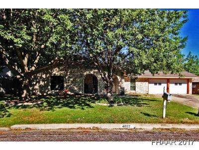 Harker Heights Single Family Home For Sale: 402 Cottonwood Drive
