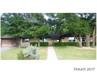 Harker Heights Single Family Home For Sale: 205 Roy Reynolds Drive