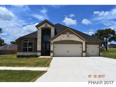 Killeen Single Family Home For Sale: 7701 Melanite