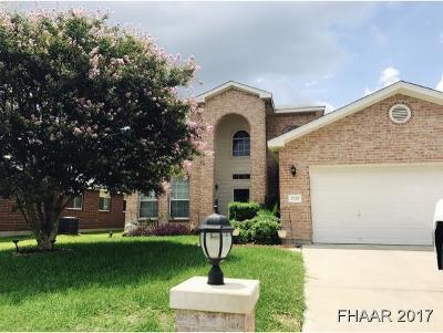 Harker Heights Single Family Home For Sale: 2010 Rain Dance Loop