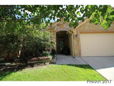 Harker Heights Single Family Home For Sale: 1506 Loblolly Drive