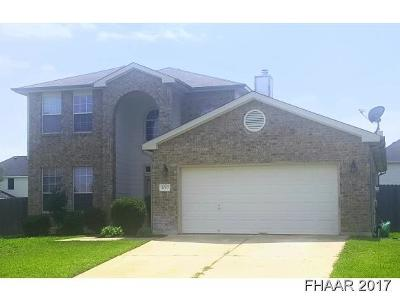 Harker Heights Single Family Home For Sale: 1017 Mustang