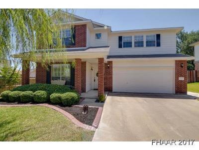 Harker Heights Single Family Home For Sale: 3042 Rain Dance