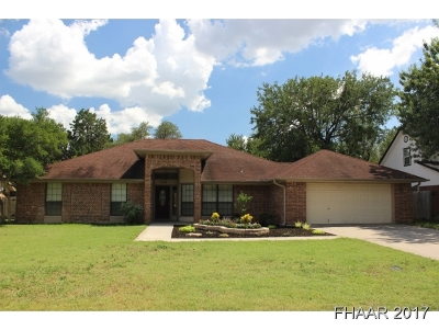 Harker Heights Single Family Home For Sale: 108 Wind Ridge Drive