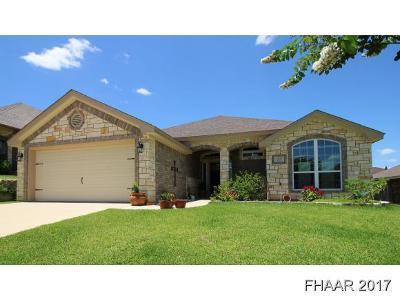 Harker Heights Single Family Home For Sale: 2521 Mugho Drive