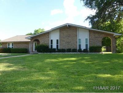 Harker Heights Single Family Home For Sale: 712 Fawn