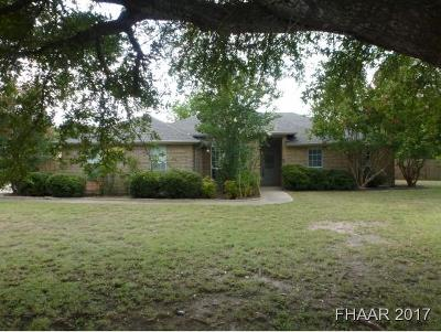 Belton Single Family Home For Sale: 3632 North Drive