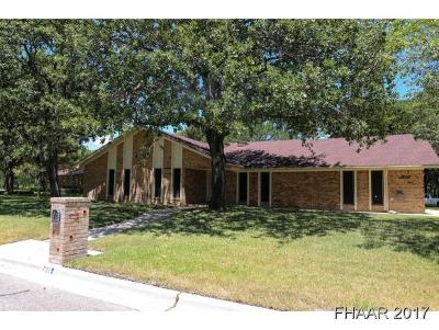 Harker Heights Single Family Home For Sale: 721 Gazelle Trail