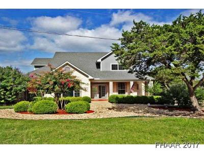 Temple Single Family Home For Sale: 16047 Charlya Drive