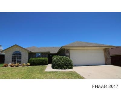 Killeen Single Family Home For Sale: 5406 Shawn Drive