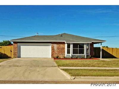 Killeen Single Family Home For Sale: 2700 Casey Drive