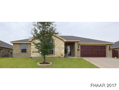 Killeen Single Family Home For Sale: 6601 Alvin Drive