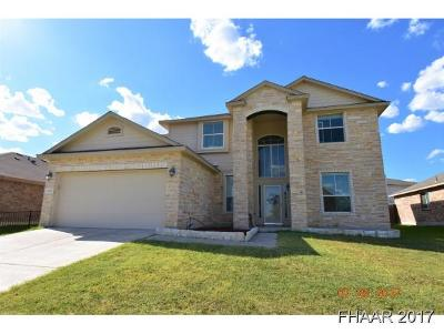 Killeen Single Family Home For Sale: 5715 Birmingham Circle