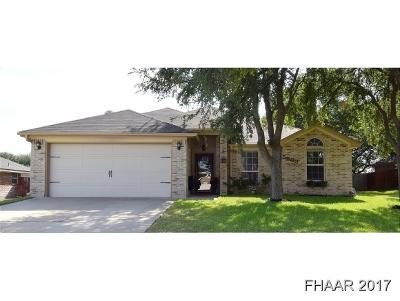 Killeen Single Family Home For Sale: 5603 Hunters Ridge