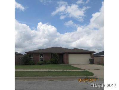 Killeen Single Family Home For Sale: 3600 Northcrest Drive
