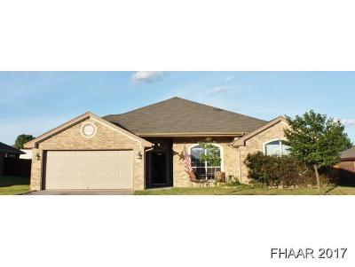Bell County Single Family Home For Sale: 4802 Hammerstone