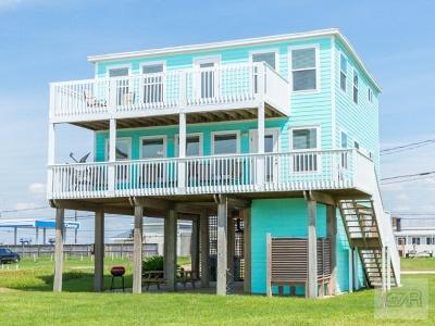 Galveston TX Single Family Home For Sale: $459,000