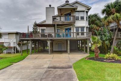 Galveston TX Single Family Home For Sale: $645,000