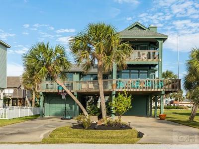 Galveston TX Single Family Home For Sale: $395,000