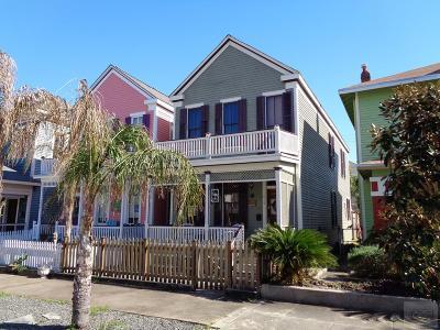 Galveston TX Single Family Home For Sale: $337,500
