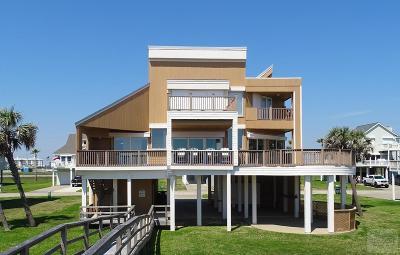 Galveston TX Single Family Home For Sale: $799,900