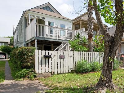 Galveston TX Single Family Home For Sale: $158,900