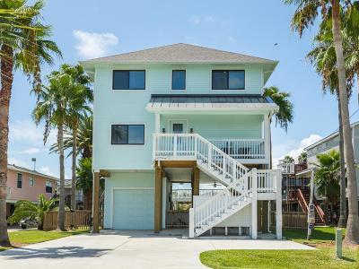Jamaica Beach Single Family Home For Sale: 16709 Albatros Rd.