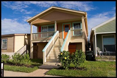 Galveston TX Single Family Home For Sale: $162,900
