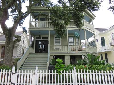 Galveston TX Single Family Home For Sale: $329,000