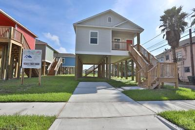 Galveston TX Single Family Home For Sale: $161,338