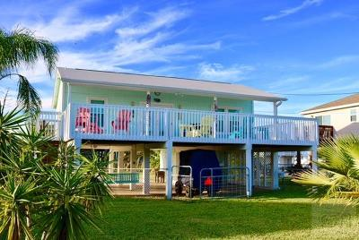 Jamaica Beach Single Family Home For Sale: 16709 Moby Dick
