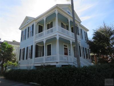 Galveston TX Single Family Home For Sale: $375,000