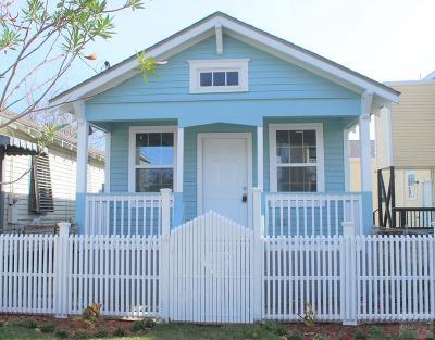 Galveston TX Single Family Home For Sale: $155,000