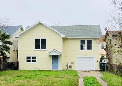 Galveston TX Single Family Home For Sale: $149,900