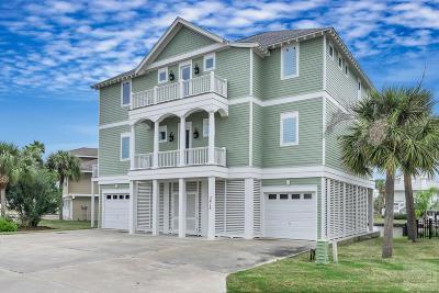 Galveston TX Single Family Home For Sale: $1,398,000