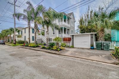 Galveston TX Single Family Home For Sale: $345,000